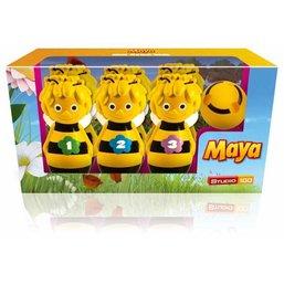 Maya de Bij Kegelspel