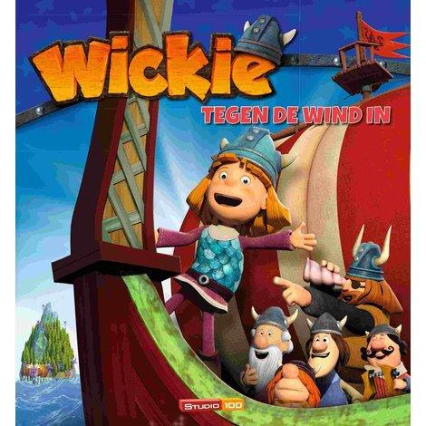 Wickie Boek - Tegen de wind in