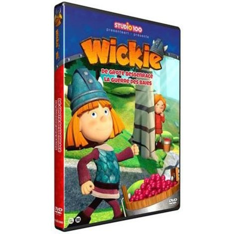 Wickie de Viking DVD- De grote bessenrace