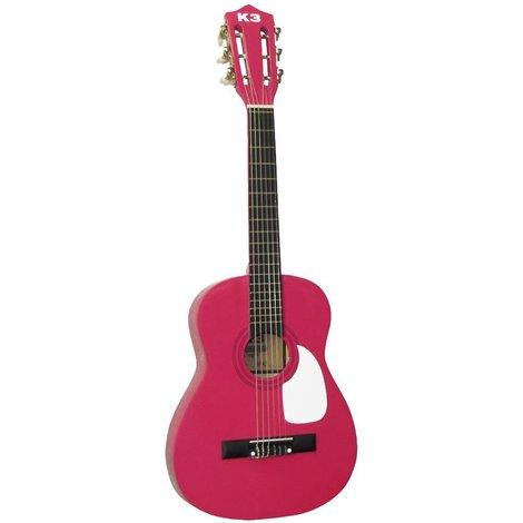 Kit de chanteuse K3 : guitare, médiator, partitions, autocollants