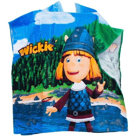 Wickie de Viking Badponcho
