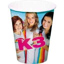 K3 Beker 250 ml 8 stuks