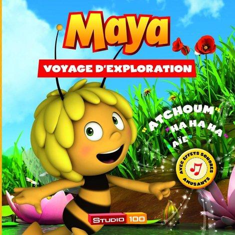 Livre audio Maya: Voyage d exploration