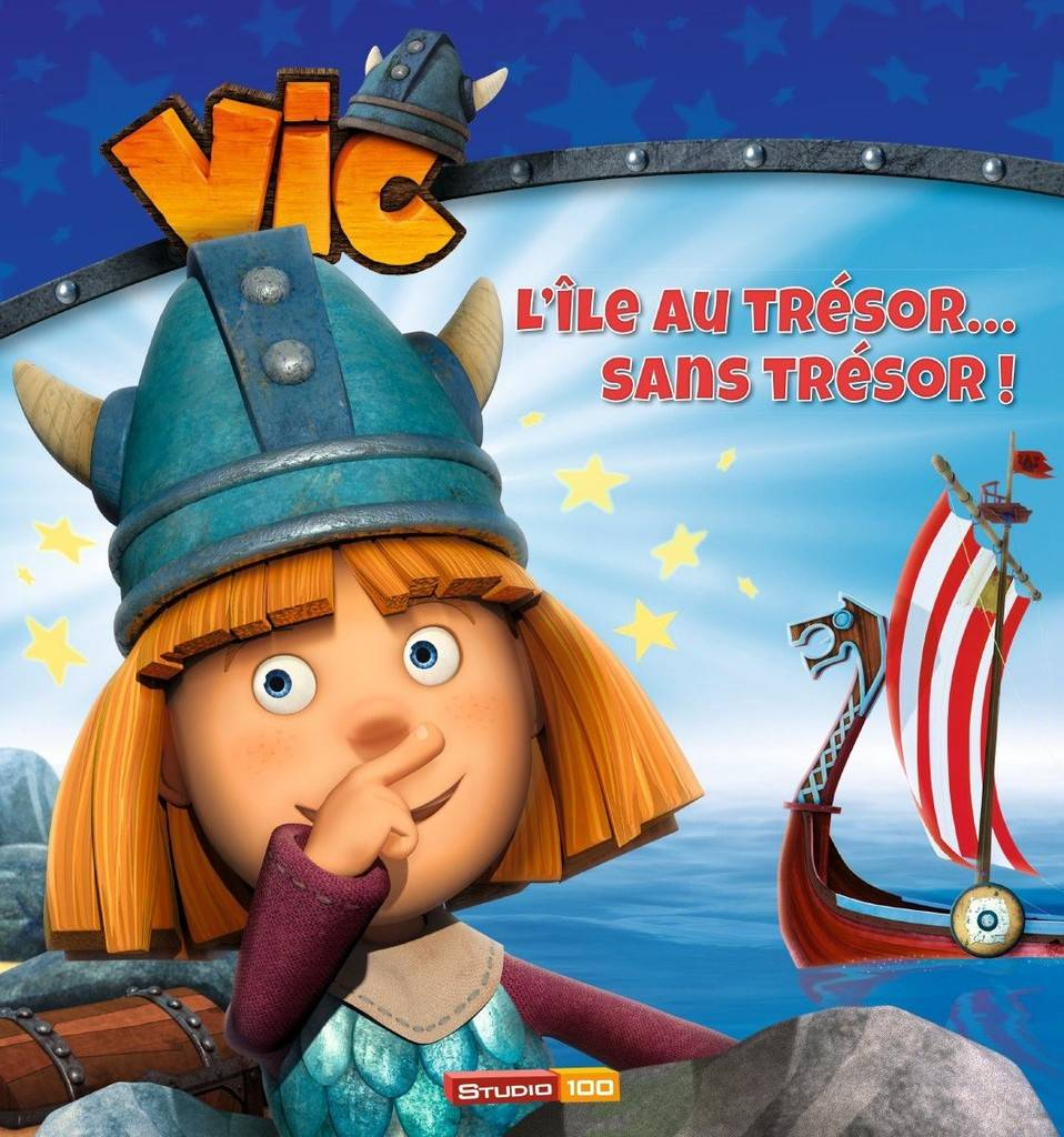 Vic le Viking L'île au trésor sans trésor