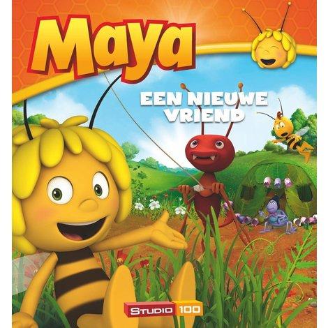 Maya de Bij Boek - Een nieuwe vriend