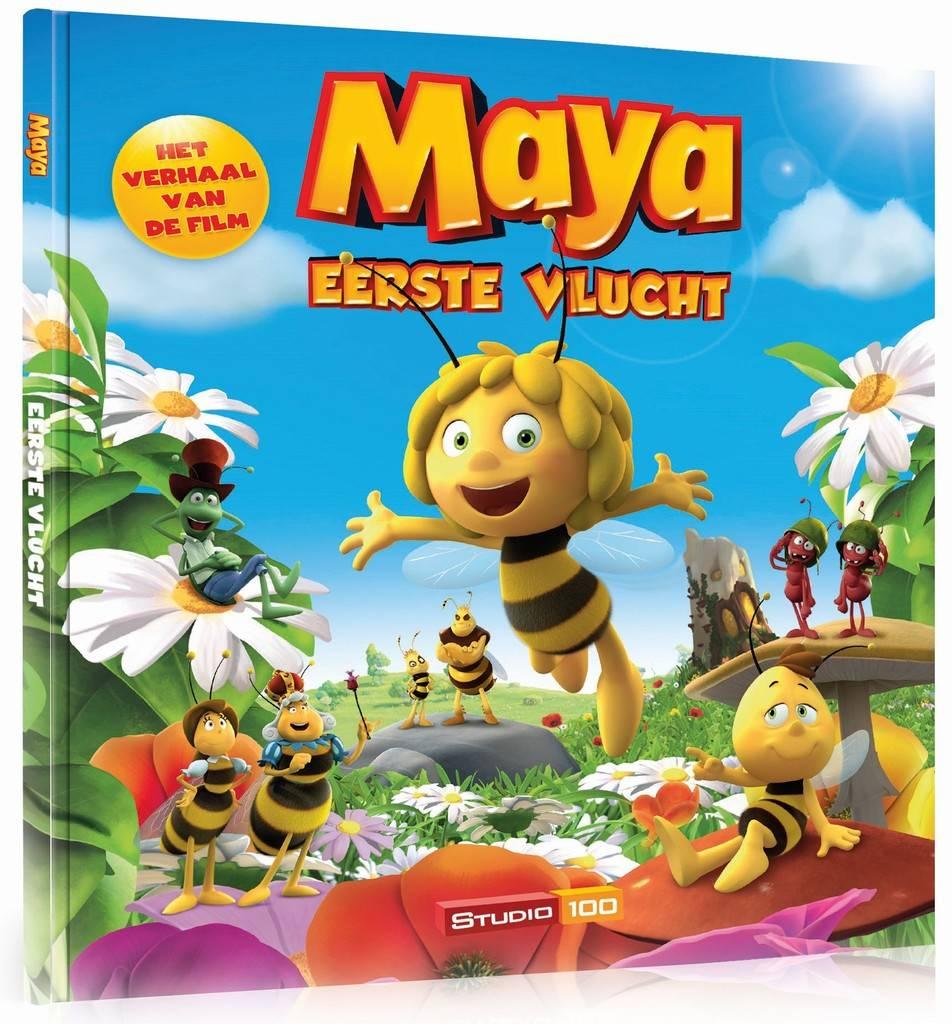 Maya de Bij Boek - Eerste vlucht