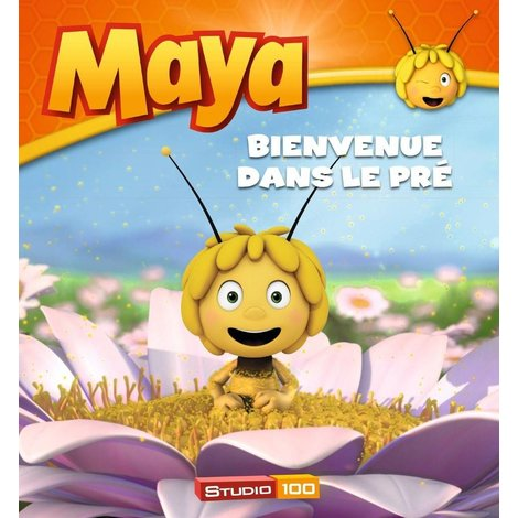 Livre Maya l'abeille - Bienvenue dans la prairie