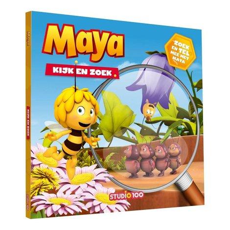 Boek Maya: Maya: Kijk- en zoekboek
