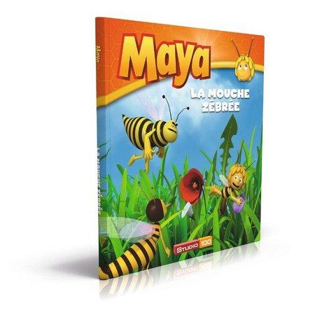 Livre Maya l'abeille - La mouche zébrée