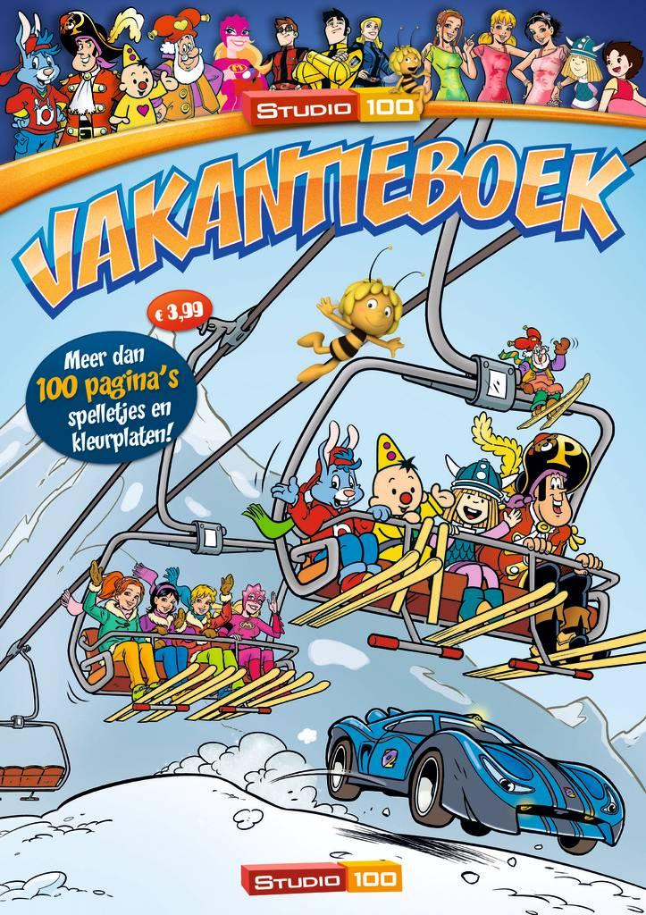 Studio 100 Vakantieboek Winter