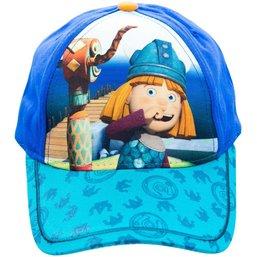 Cap Wickie blauw