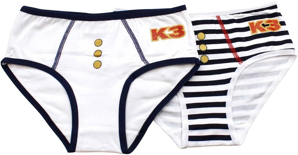 K3 Slip bleu - 2 pièces