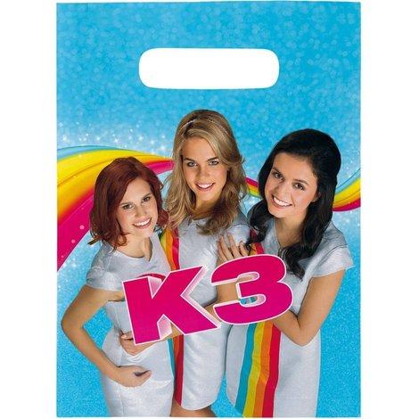 K3 Feestzakjes - 8 stuks