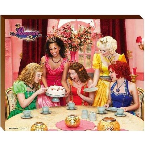 Prinsessia Posterboard - Taart 40x50 cm
