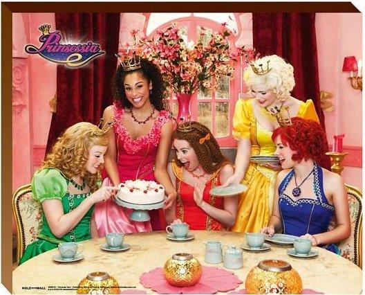 Posterboard Prinsessia 40x50: taart