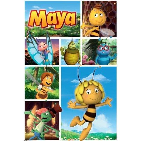 Maya de Bij Poster collage