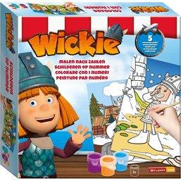 Wickie de Viking Schilderen op nummer Wickie