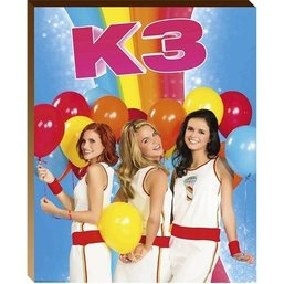 K3 Posterboard 40x50 ballonnen