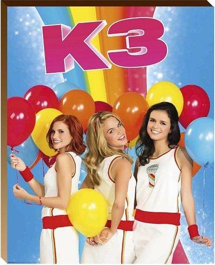 K3 Posterboard - Ballonnen 40x50