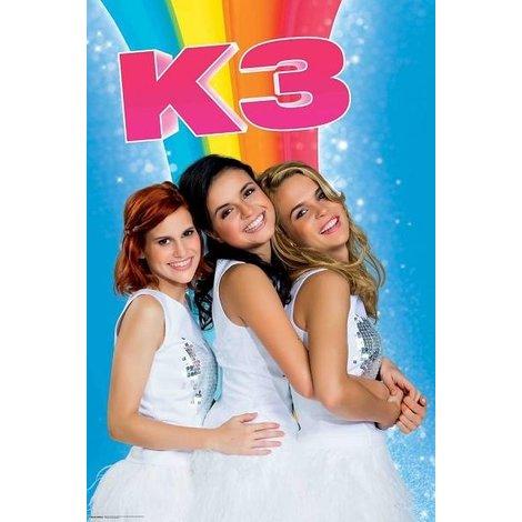 K3 Poster Regenboog 61 x 92 cm