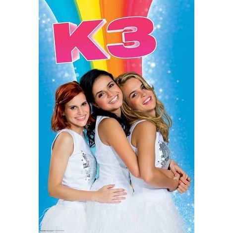 Poster K3 - Arc-en-ciel