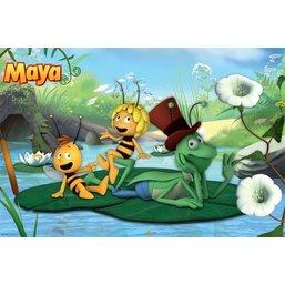 Maya de Bij poster vijver