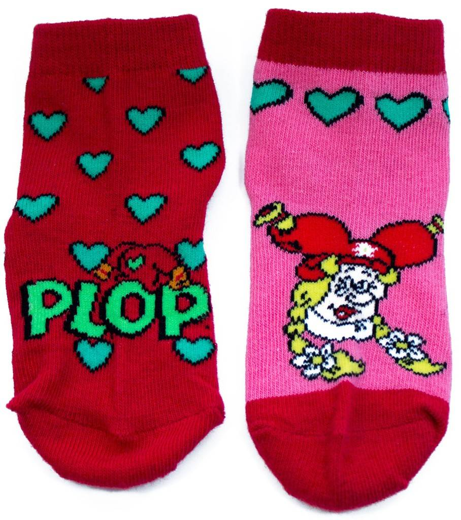 Kabouter Plop Sokken roze - 2 stuks