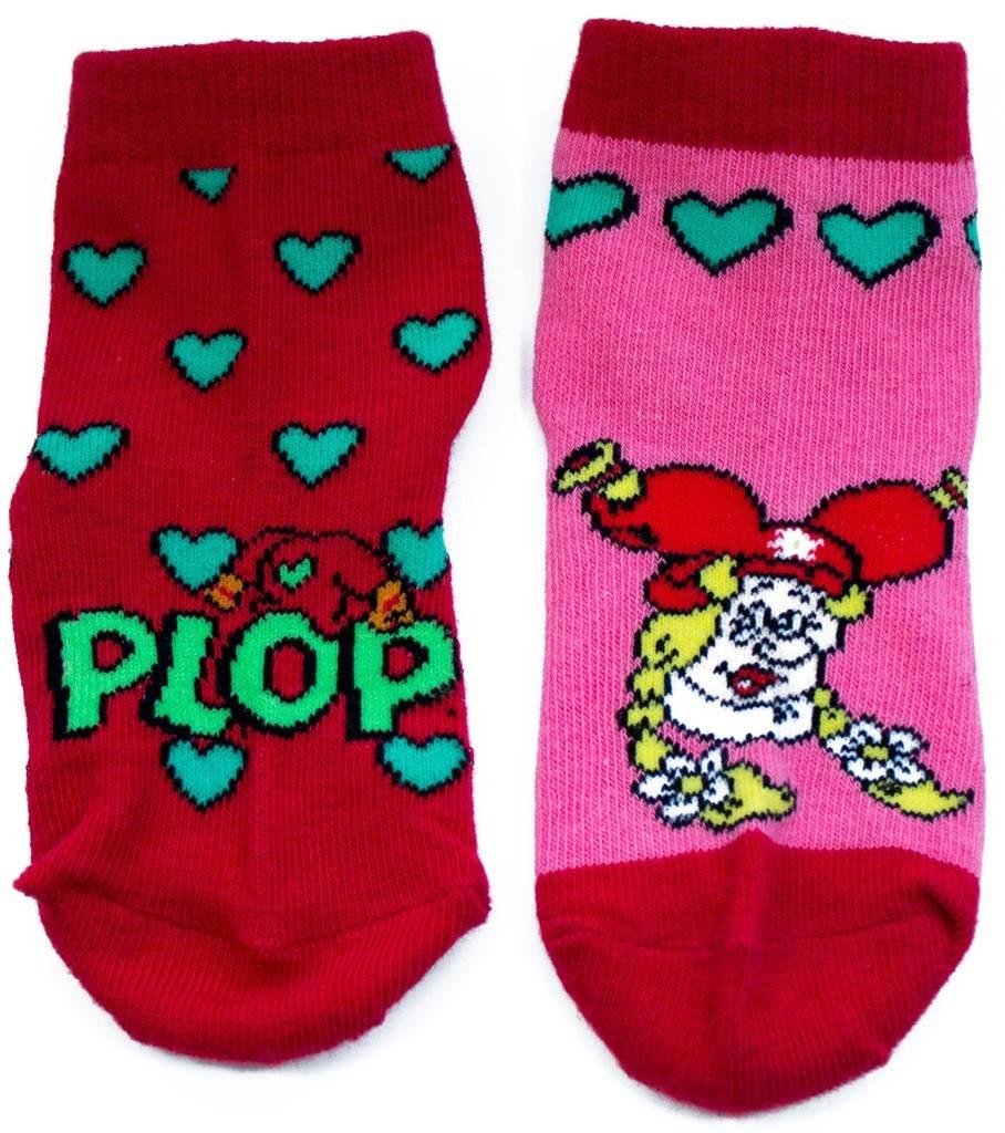 Lot de 2 paires de chaussettes roses Plop
