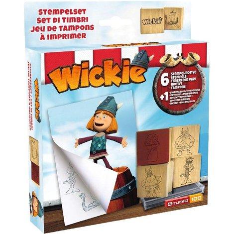 Stempelset Wickie