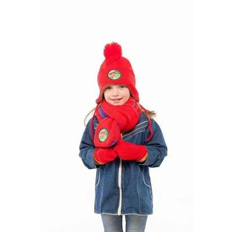 Kabouter Plop Winterset rood