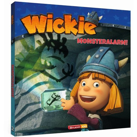 Wickie de Viking Boek - Monsteralarm