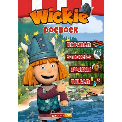 Wickie de Viking Doeboek