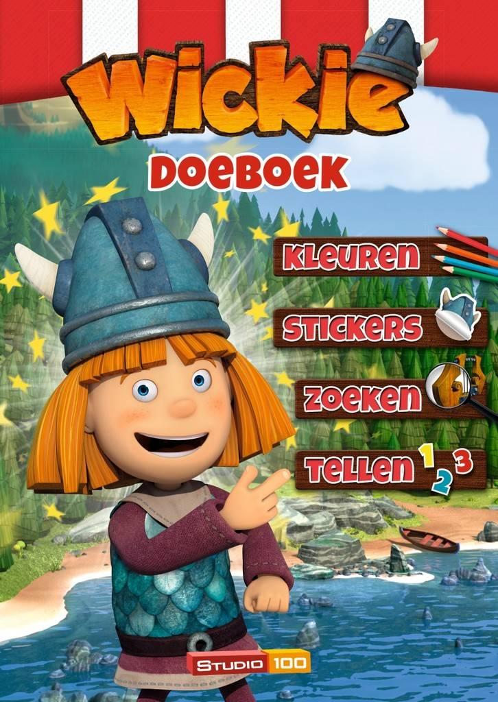 Wickie de Viking Doeboek - Schaar