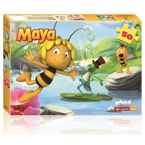 Maya de Bij 3D Puzzel Maja 50 stukjes