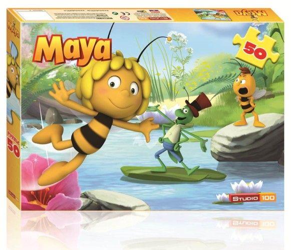 Maya de Bij 3D Puzzel - 50 stukjes