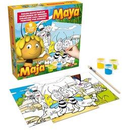 Maya de Bij Schilderen op nummer