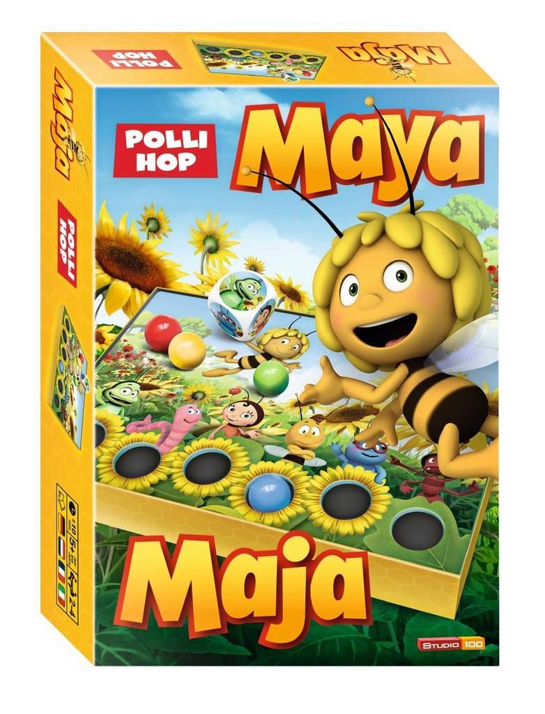 Jeu Maya l'abeille - Polli Hop