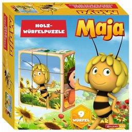 Maya de Bij Houten blokpuzzel