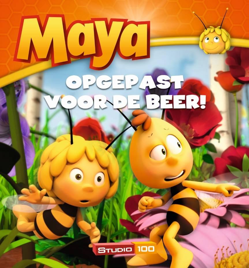 Maya de Bij Boek Opgepast voor de beer