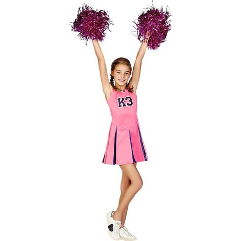Robe de pom-pom girl et pompoms K3