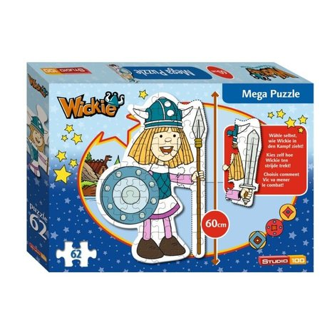 Puzzle Vic le Viking 62 pièces