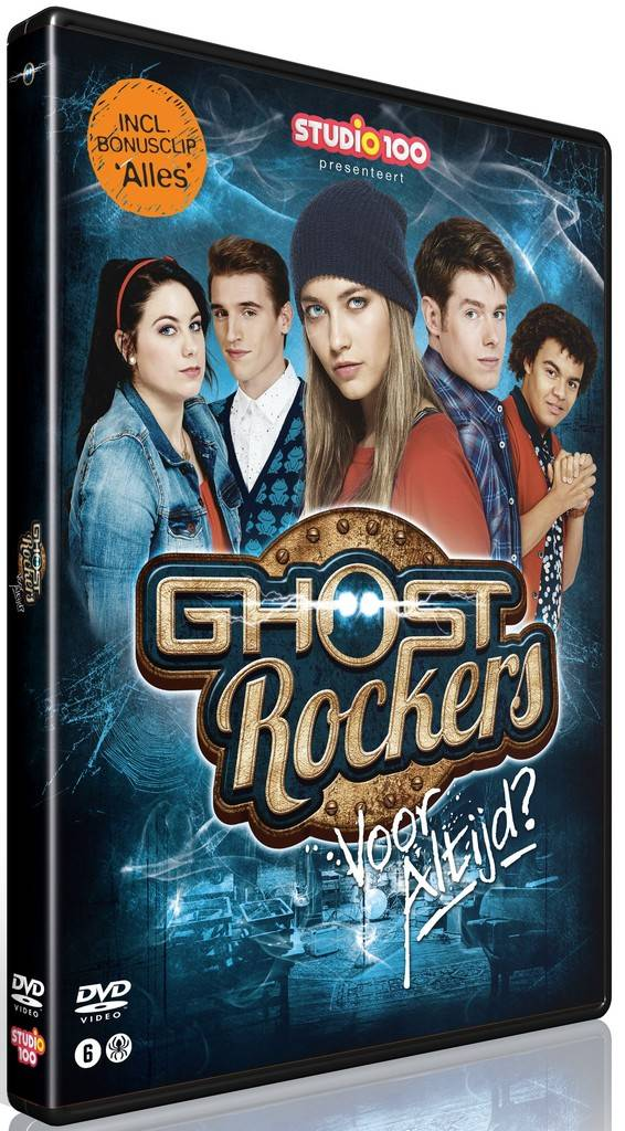 Dvd Ghost Rockers: voor altijd