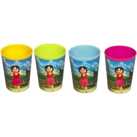 Drinkbeker Heidi: set van 4