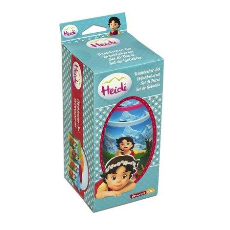Lot de 4 gobelets Heidi