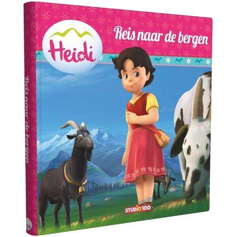Heidi Voorleesboek Reis naar de bergen