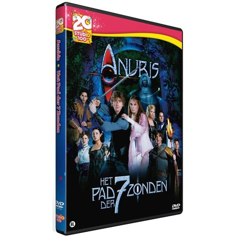 Het Huis Anubis DVD - Het pad der 7 zonden