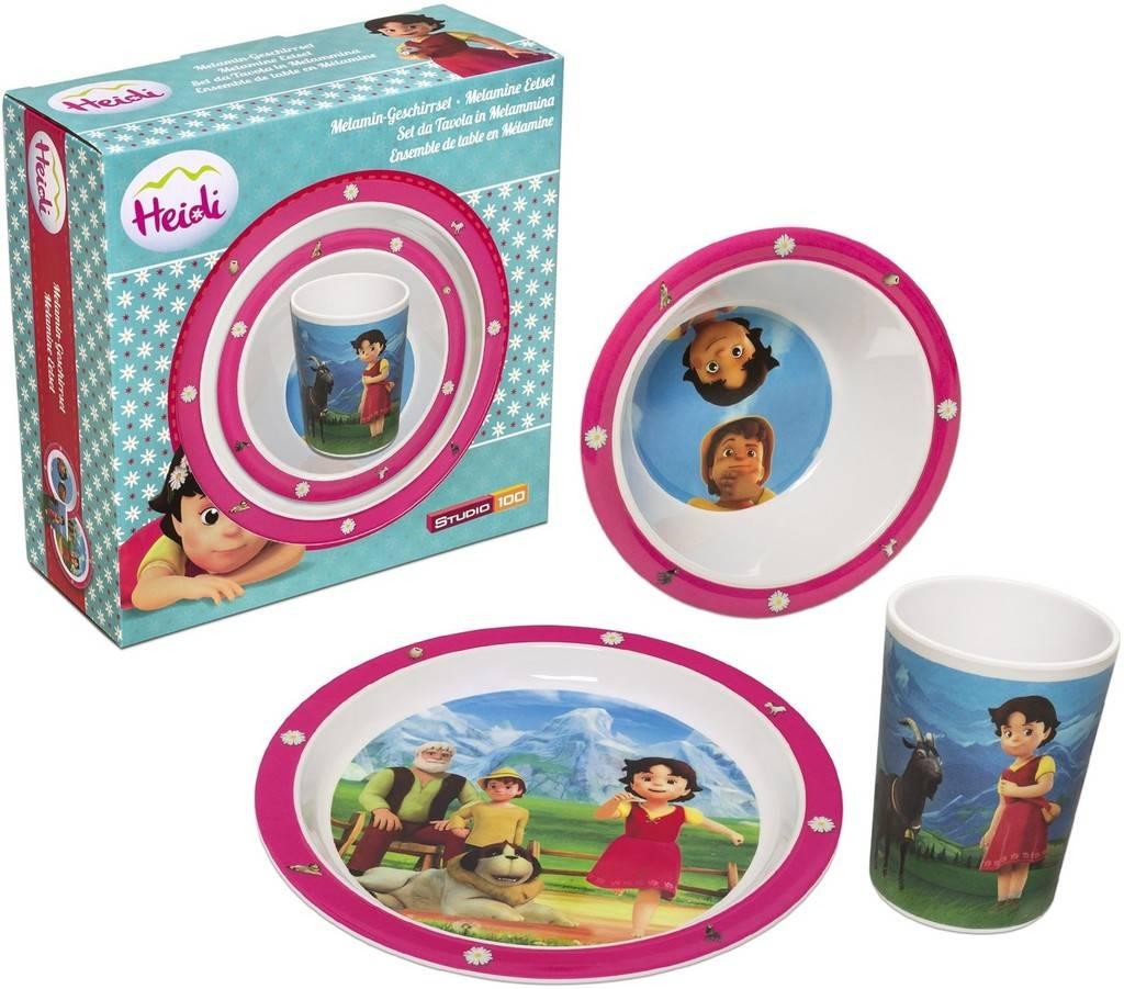 Set de couverts pour bébé Heidi