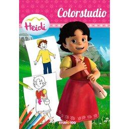 Heidi Livre à colorier