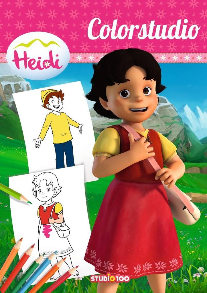 Livre à colorier Heidi