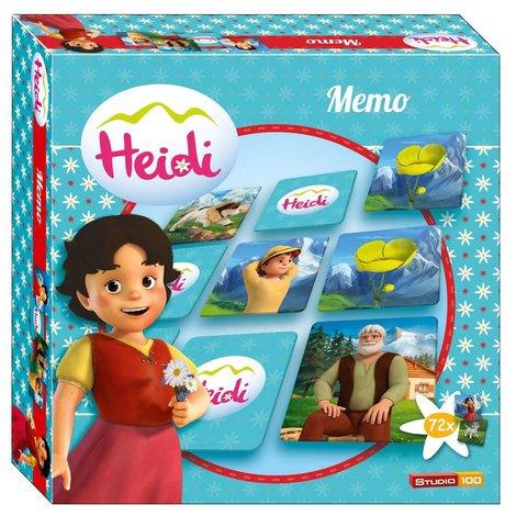 Jeu de mémo Heidi